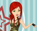 Jogar Vestir a Menina Militar