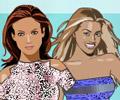 Jogar Vestir a Beyonce e a Jennifer Lopez