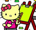 Jogar Colorir com Hello Kitty