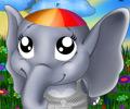 Jogar Vestir o Elefante Bebé