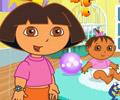 Jogar Dora Brinca com os Irmãos Gémeos