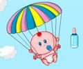 Jogar Bebê Paraquedista
