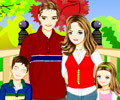 Jogar Happy Family Dress Up