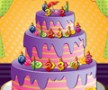 Jogar Birthday Cake Decor